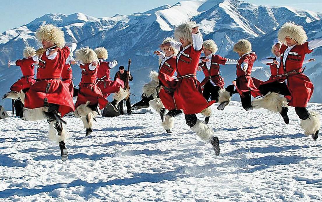 Новый Год в Грузии из Минска