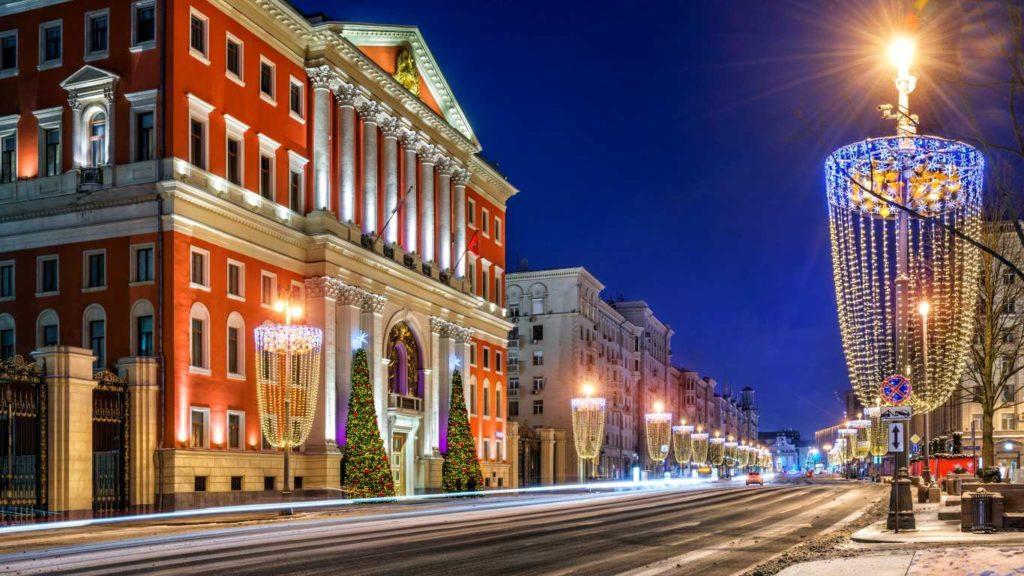 Туры выходного дня в Москву