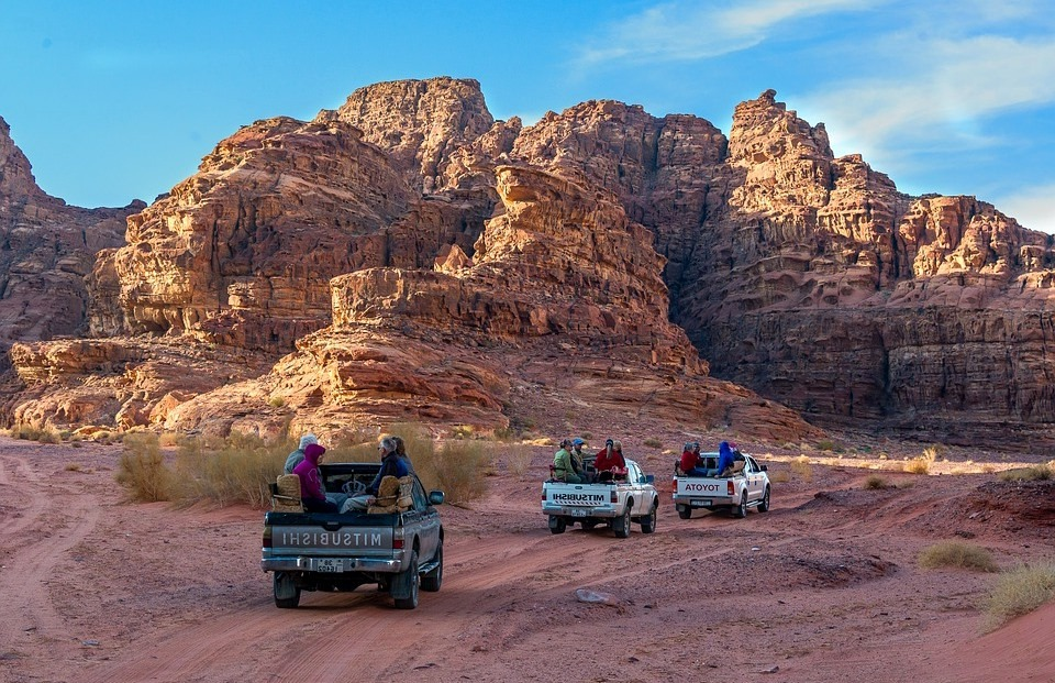 Иордания джип экскурсия тур по каньонам