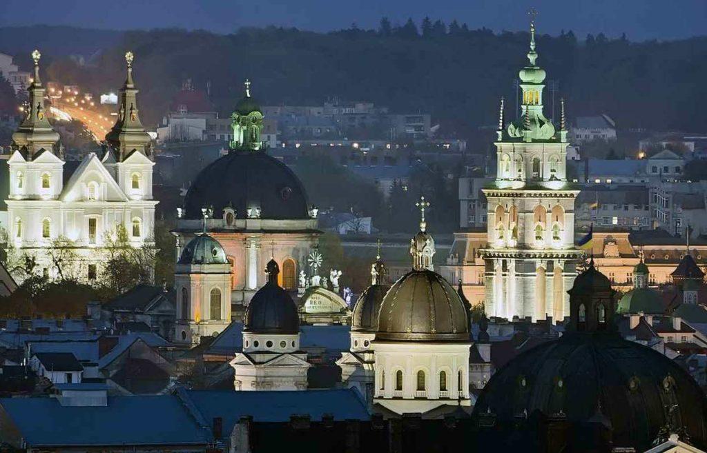 Жд тур во Львов на Новый Год