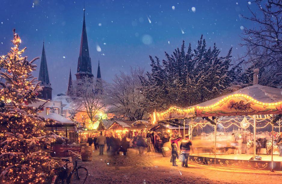 Туры на Рождество в Европе из Минска