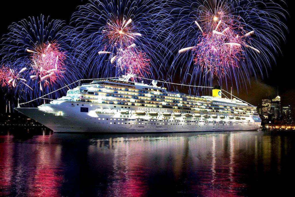 Морской круиз на Новый Год