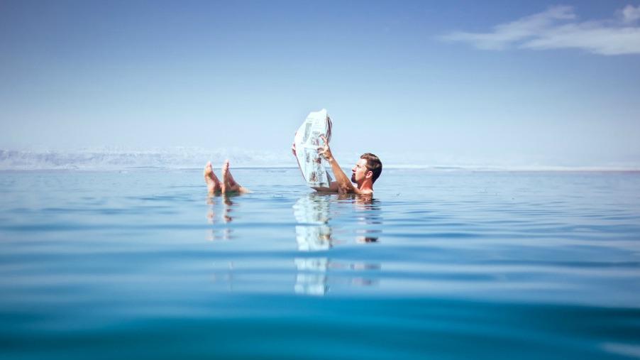 Пляжный отдых на Мертвом море