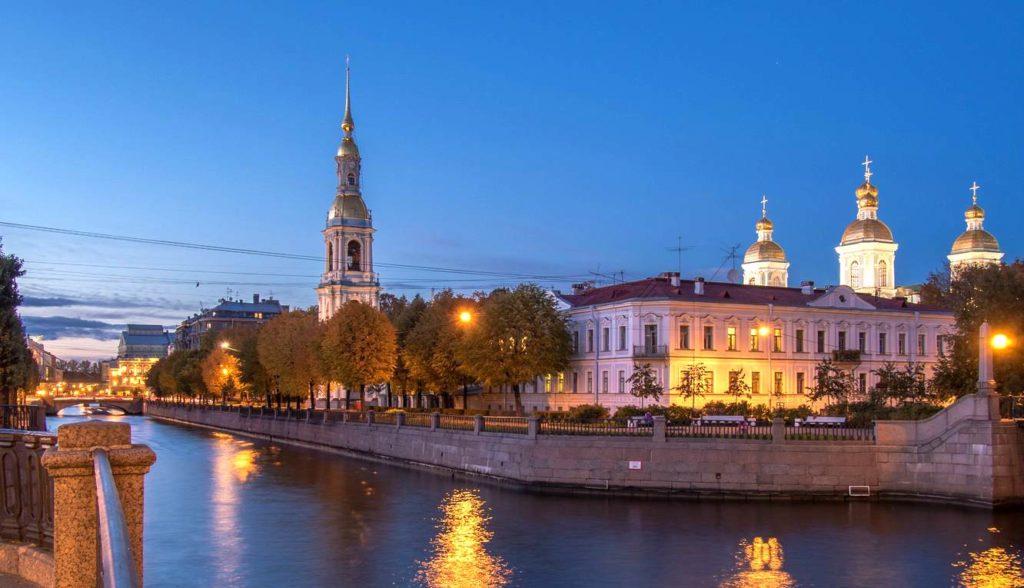 Железнодорожные туры в Санкт-Петербург