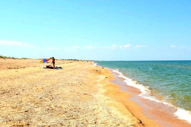 Пляжи и курорты Арабтской стрелки Украины