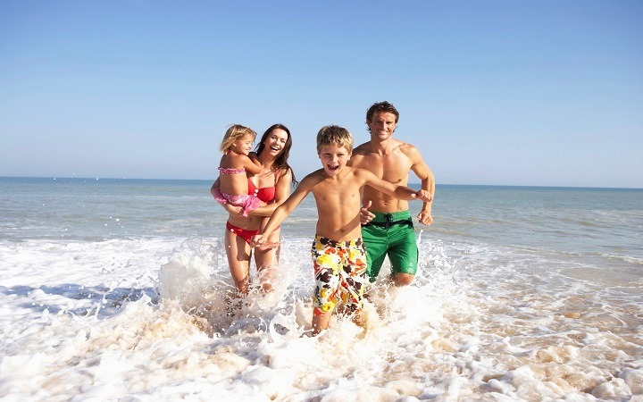 Семейный отдых с маленькими детьми на море