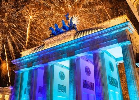 Новый Год в Берлине Германия