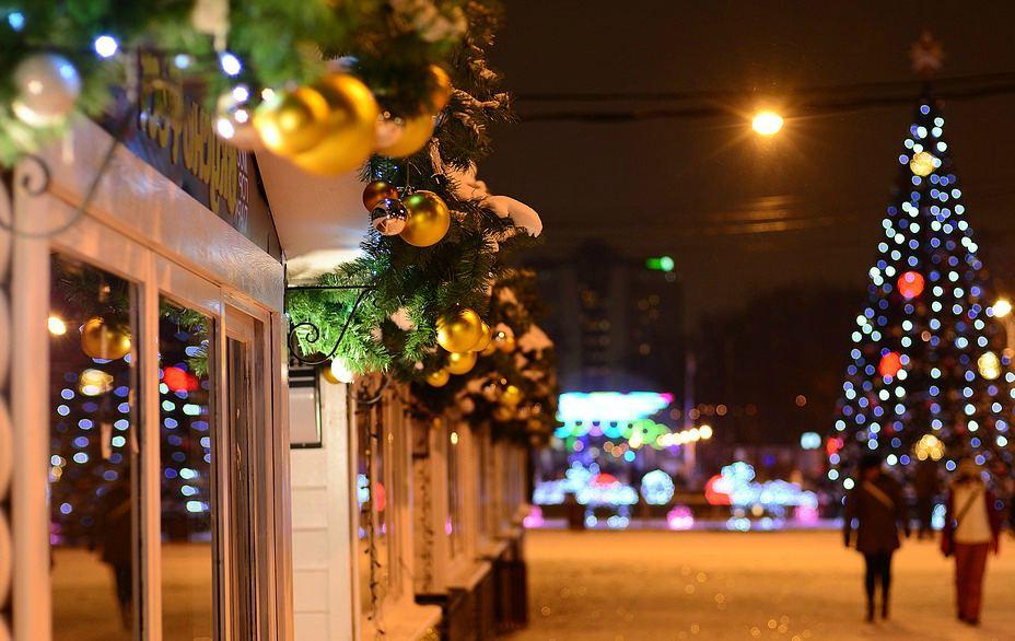 Тур на Рождество в Москву