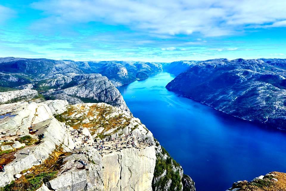 Туры на фьорды в Норвегии