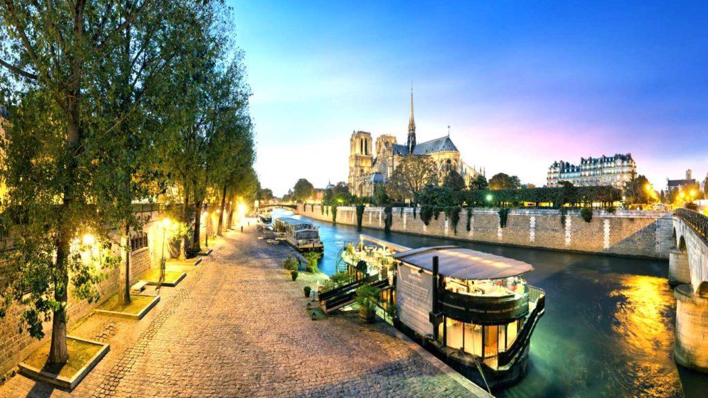 Отдых в Париже 2019