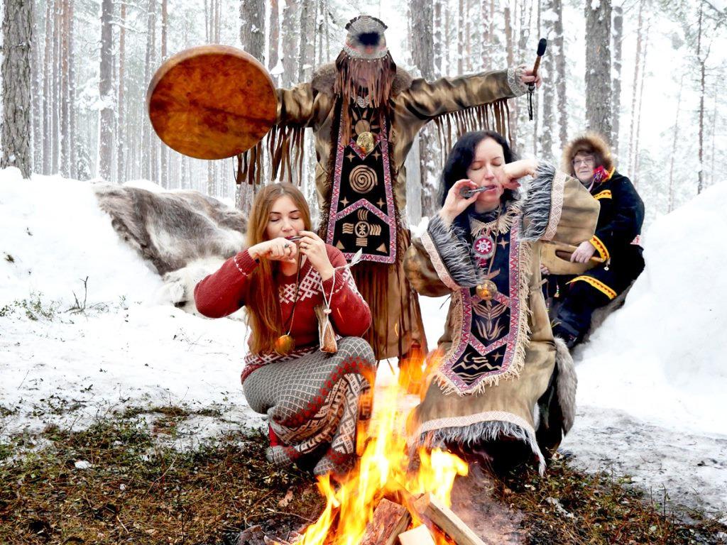 Отдых в саамской деревне в Карелии