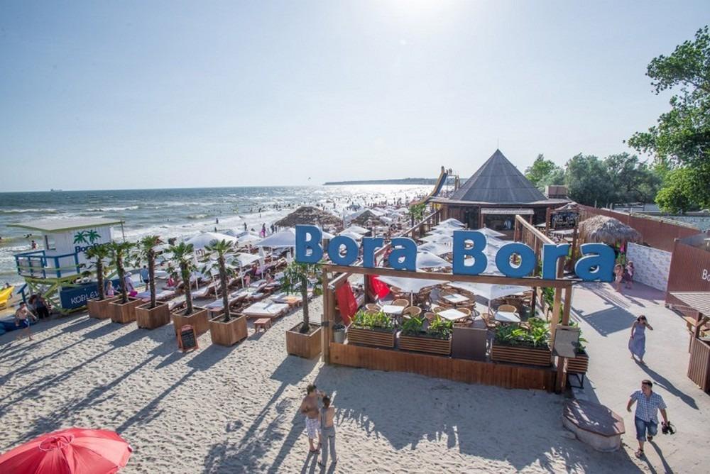 Пляжный отдых в Коблево