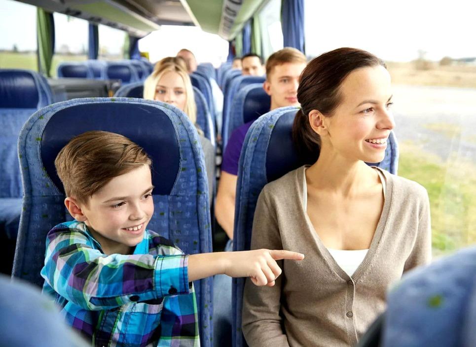 Поездка с детьми на Азовское море