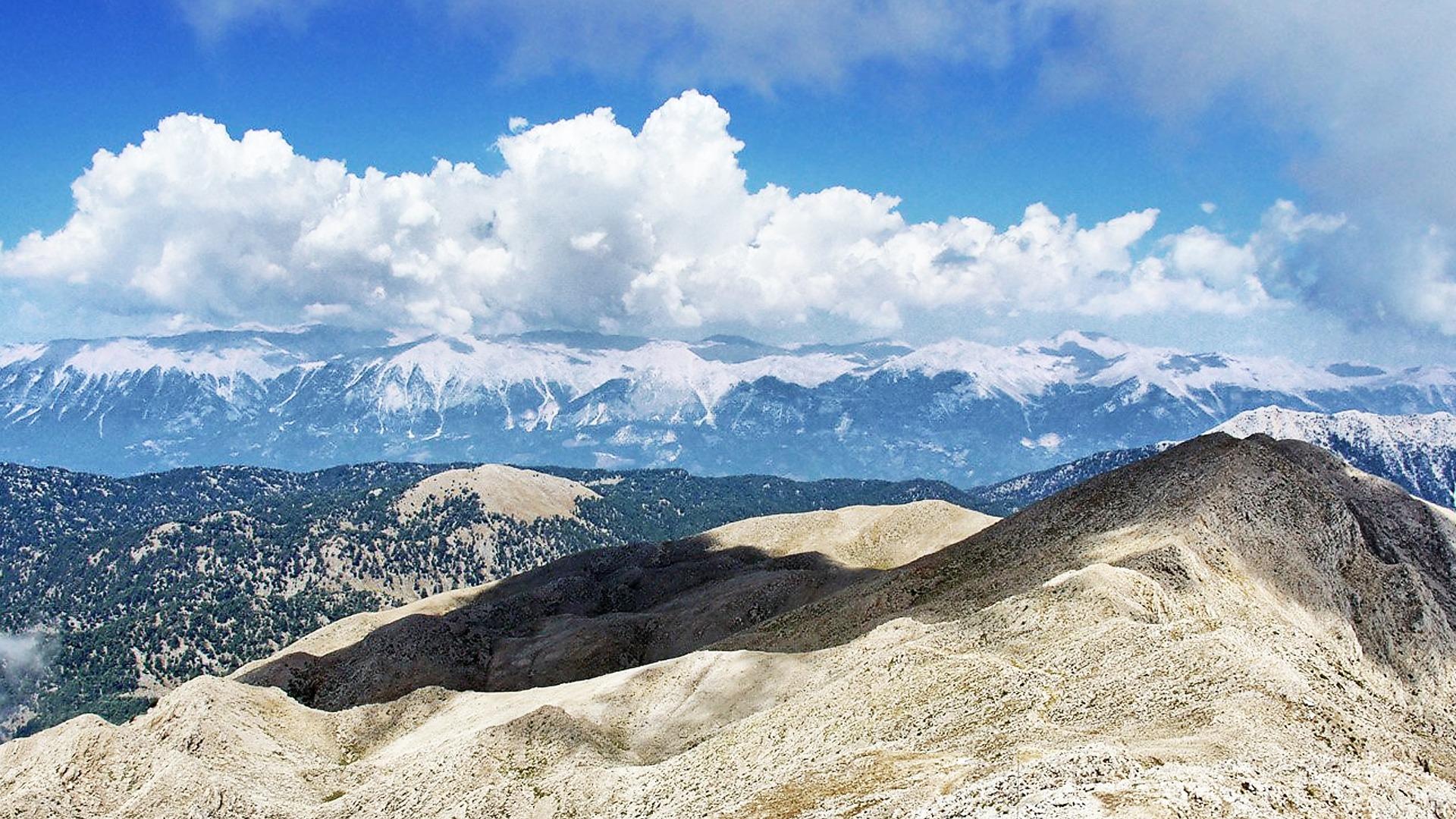 Гора Тахталы на Ликийской тропе