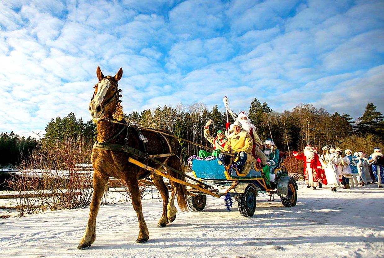 Новогодний отдых в Беларуси