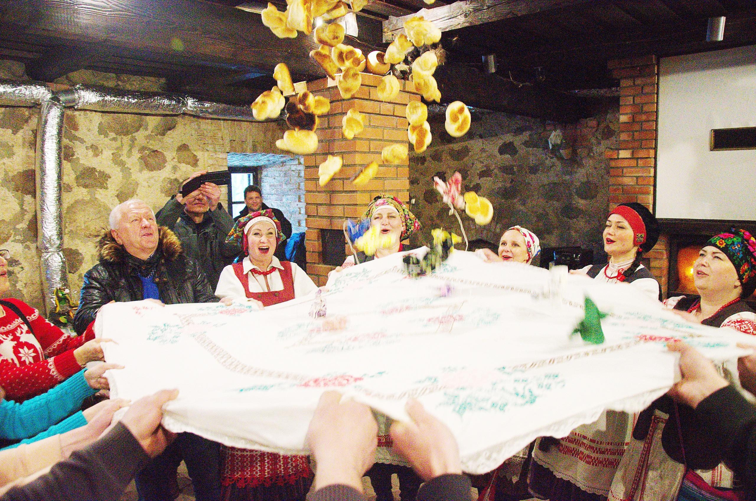 Отдых зимой в тур комплексе Вольный Мельник