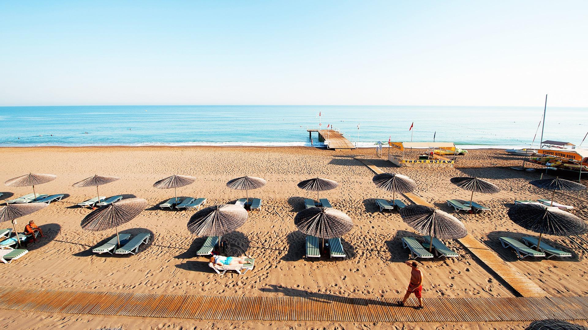 Пляжный отдых в Белек Турции